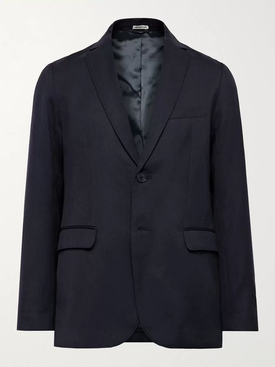 Blue Blue Japan Slim-Fit Wool Suit Jacket
