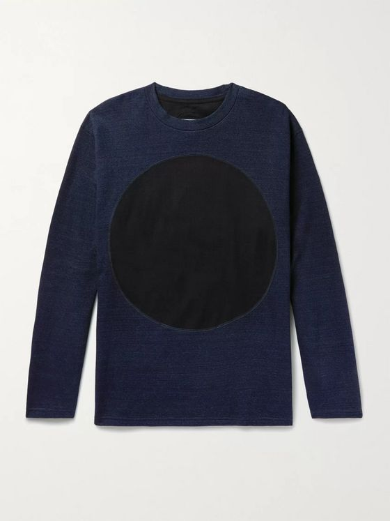 Blue Blue Japan Indigo-Dyed Cotton-Jersey Sweatshirt