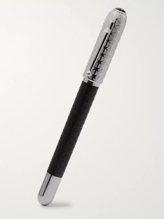 Dunhill Sidecar Resin and Silver-Tone Ballpoint Pen