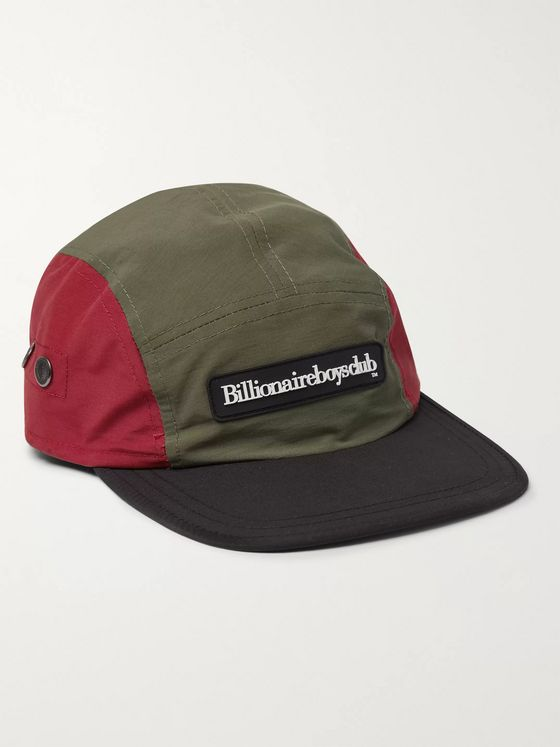 Billionaire Boys Club Logo-Appliquéd Colour-Block Nylon Baseball Cap