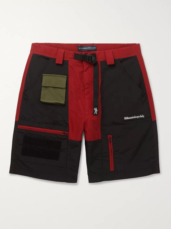 Billionaire Boys Club Logo-Appliquéd Cotton-Blend Cargo Shorts