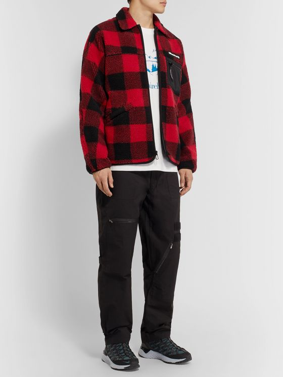 Billionaire Boys Club Checked Fleece Overshirt