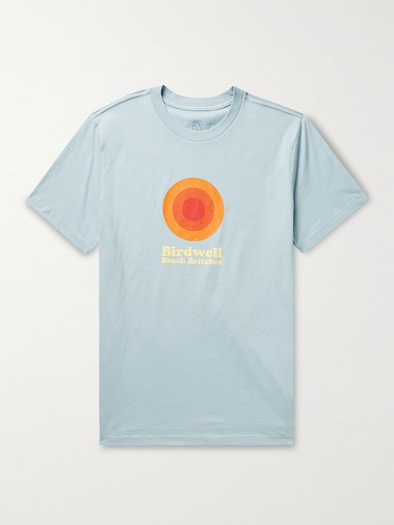 BIRDWELL Flame Wave Logo-Print Cotton-Jersey T-Shirt