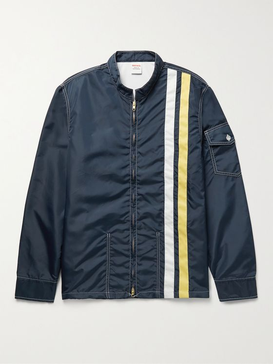 BIRDWELL Le Mans Racing Striped SurfNyl Jacket