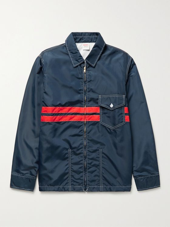 BIRDWELL Striped Nylon Jacket