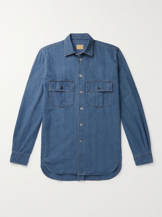 L.E.J Selvedge Denim Shirt