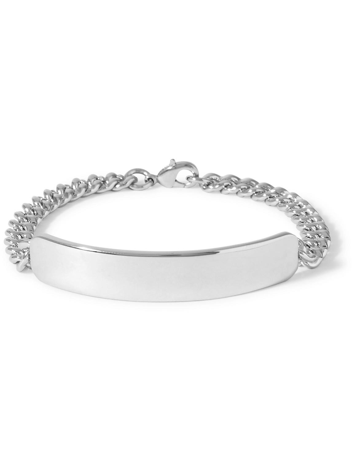 A.p.c. Darwin Silver-tone Id Bracelet