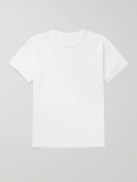 VISVIM Ultimate Sea Island Cotton-Jersey T-Shirt