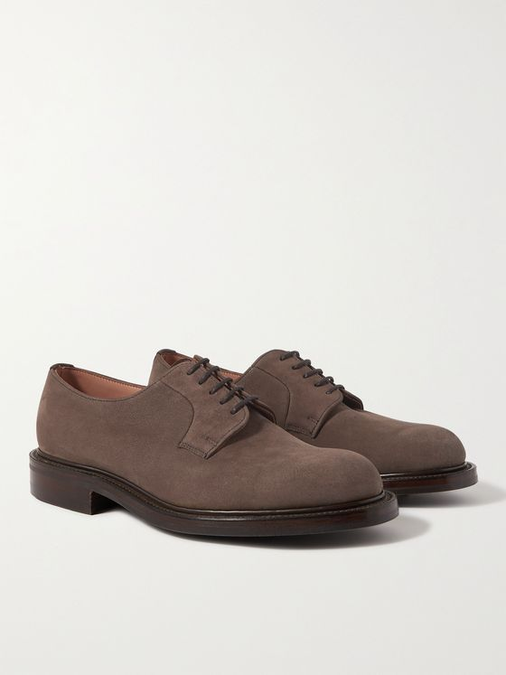 GEORGE CLEVERLEY Archie III Suede Derby Shoe
