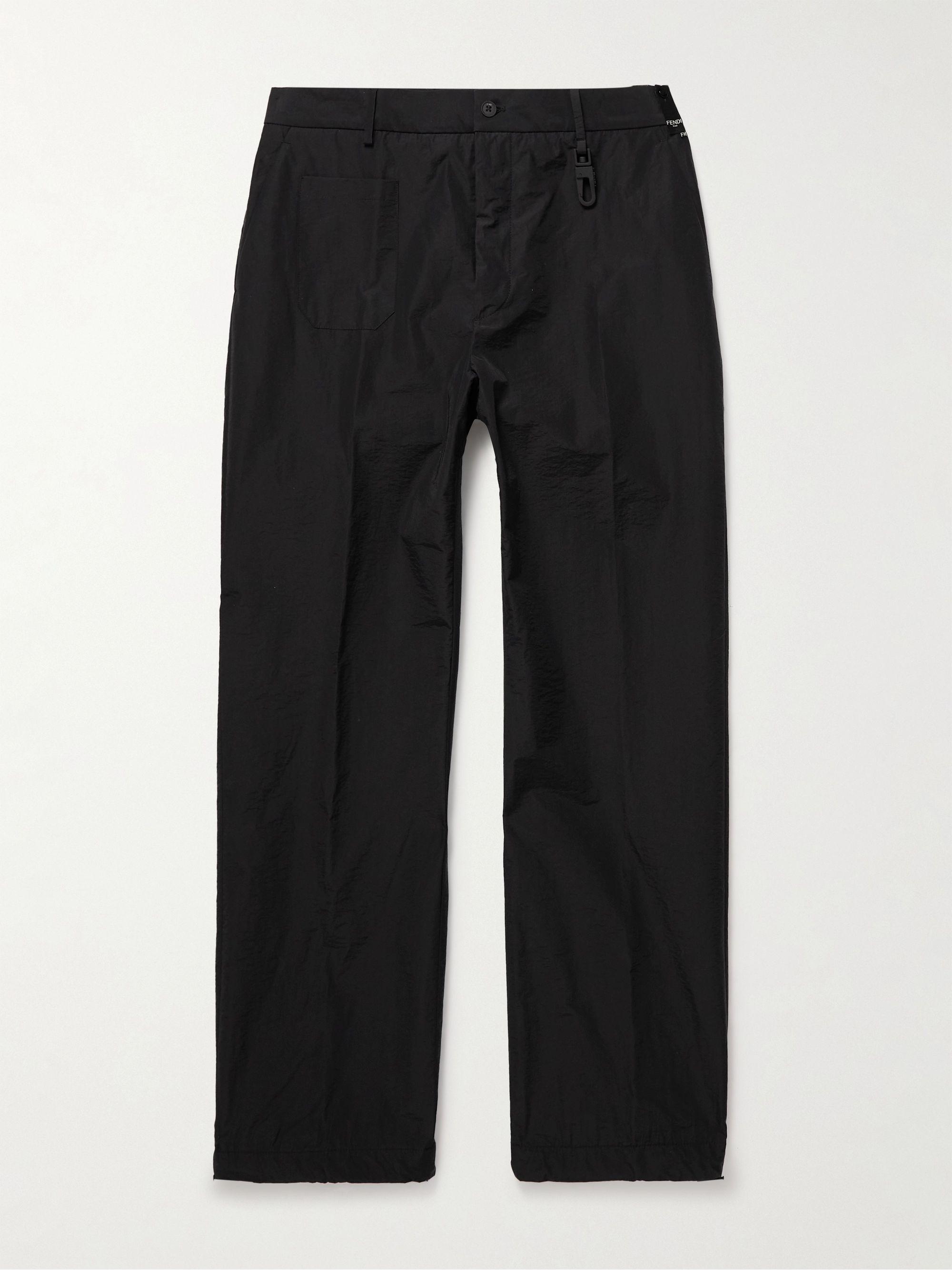 FENDI Cotton-Blend Shell Trousers