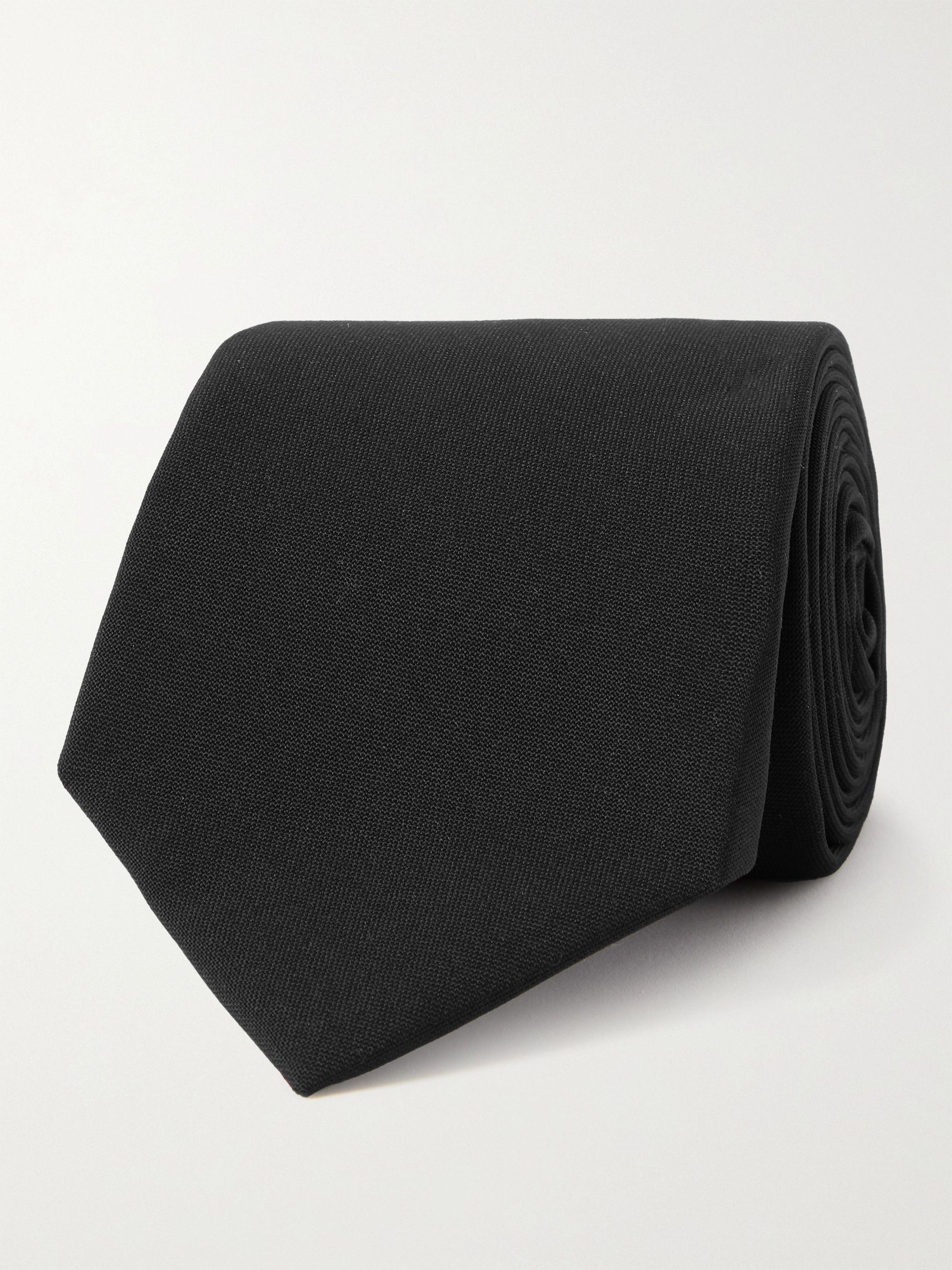 브루넬로 쿠치넬리 넥타이 Brunello Cucinelli 6cm Virgin Wool Tie,Navy
