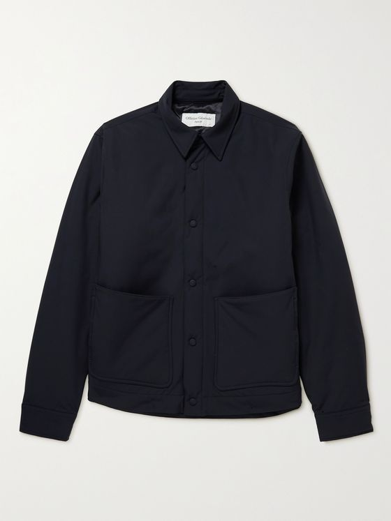 OFFICINE GÉNÉRALE Stuart Slim-Fit Padded Shell Blouson Jacket