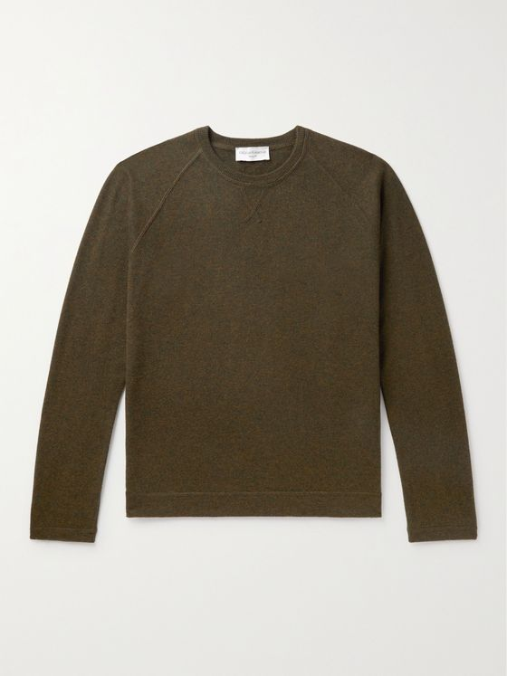 OFFICINE GÉNÉRALE Nate Merino Wool Sweater