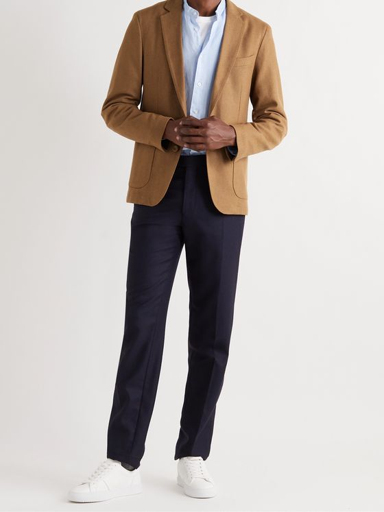 OFFICINE GÉNÉRALE Unstructured Wool and Cashmere-Blend Blazer