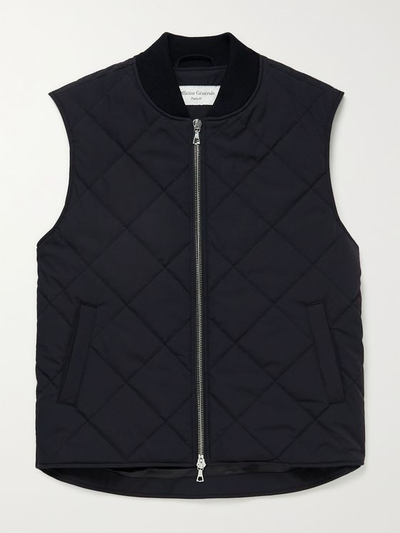 OFFICINE GÉNÉRALE Dave Quilted Shell Gilet