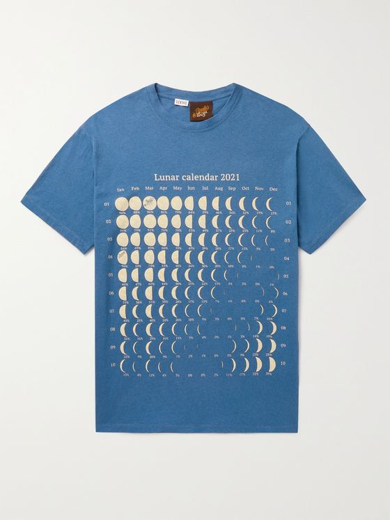 LOEWE + Paula's Ibiza Printed Cotton and Hemp-Blend T-Shirt