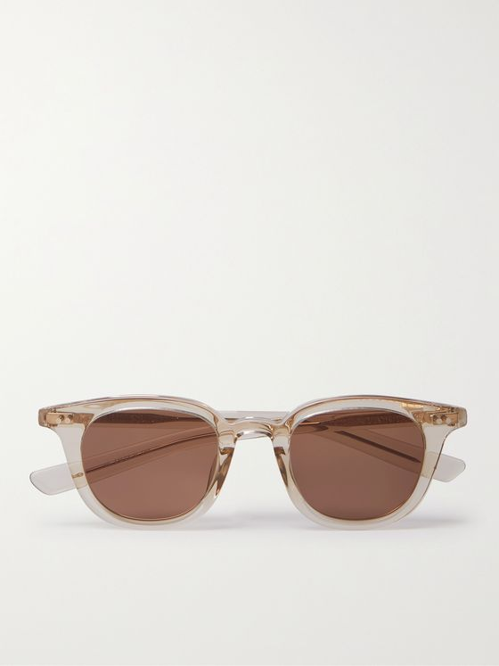 NATIVE SONS Guerrero Square-Frame Acetate Sunglasses