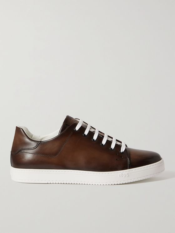 BERLUTI Playtime Venezia Leather Sneakers