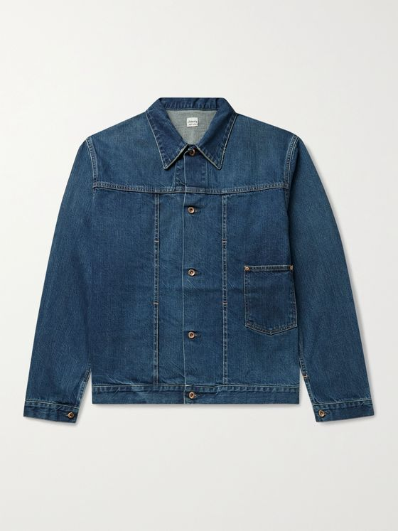 CHIMALA Denim Trucker Jacket