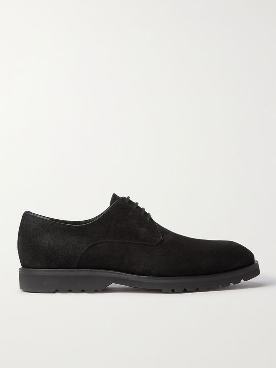 TOM FORD Kensington Suede Derby Shoes