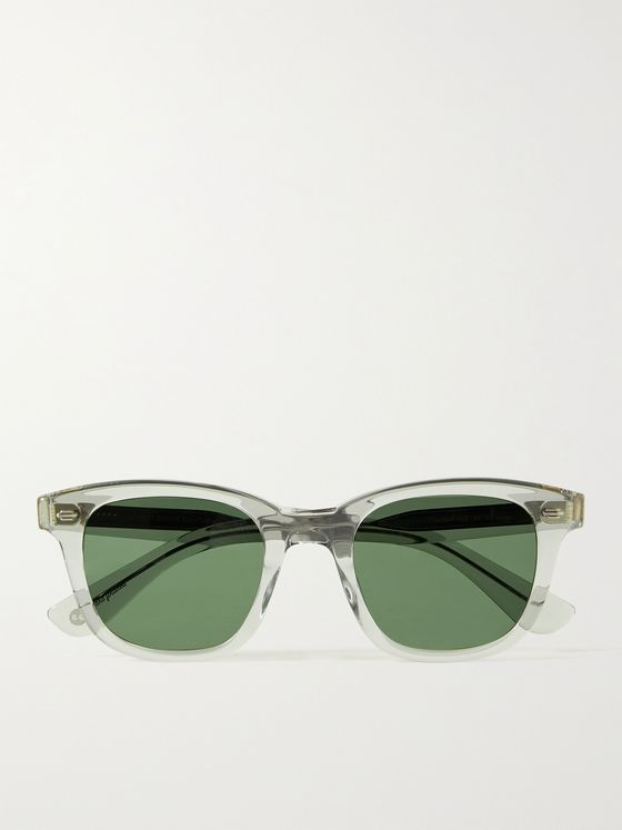 GARRETT LEIGHT CALIFORNIA OPTICAL Calabar D-Frame Acetate Sunglasses