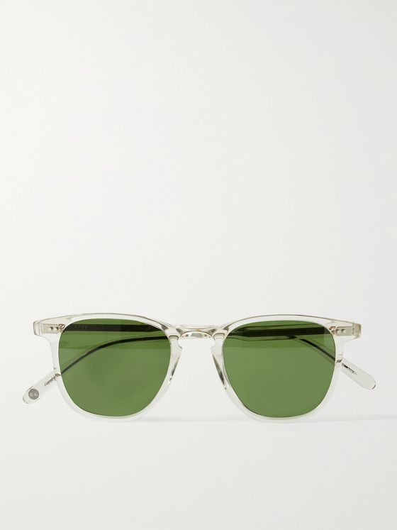 GARRETT LEIGHT CALIFORNIA OPTICAL Brooks 47 D-Frame Acetate Sunglasses