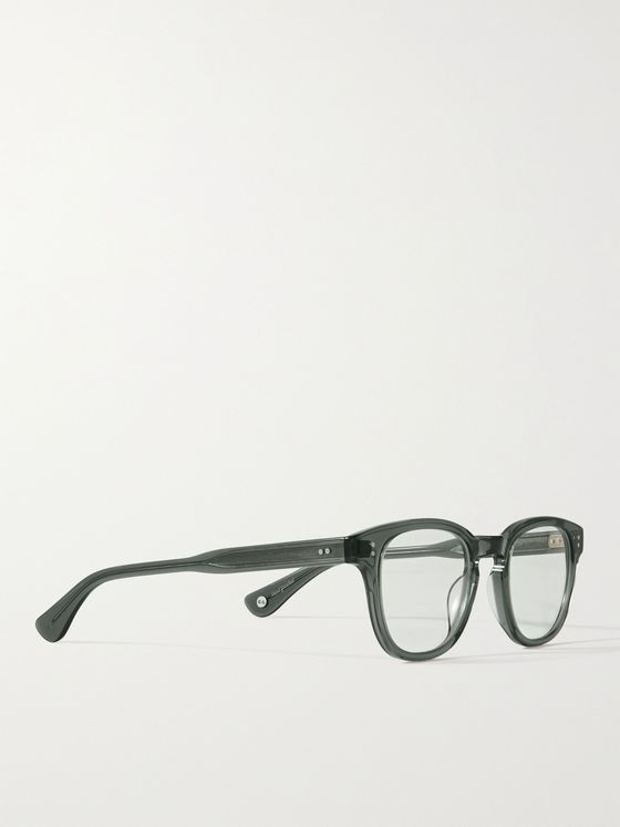 GARRETT LEIGHT CALIFORNIA OPTICAL Douglas Square-Frame Acetate Optical Glasses
