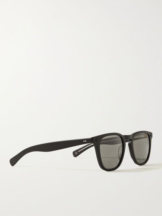 GARRETT LEIGHT CALIFORNIA OPTICAL Brooks X D-Frame Matte-Acetate Sunglasses