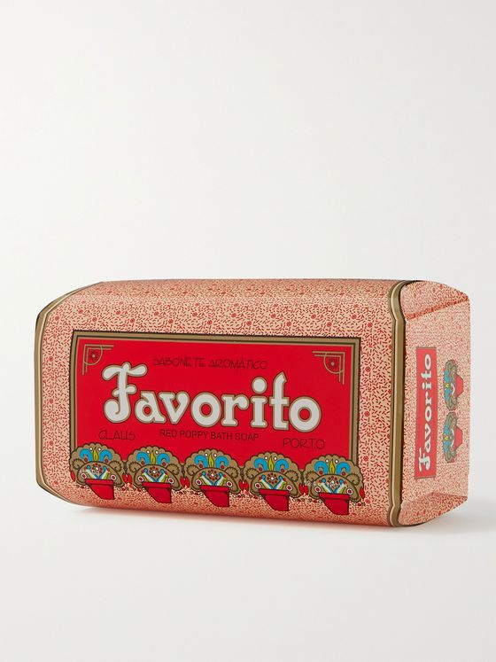 CLAUS PORTO Favorito Soap - Red Poppy, 350g