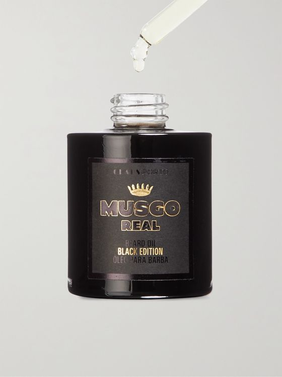 CLAUS PORTO Black Edition Beard Oil, 30ml
