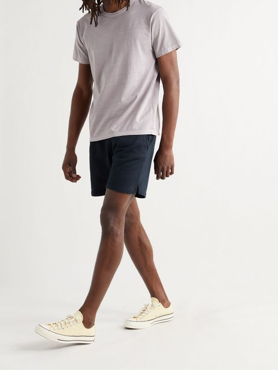 SAVE KHAKI UNITED Fleece-Back Supima Cotton-Jersey Shorts