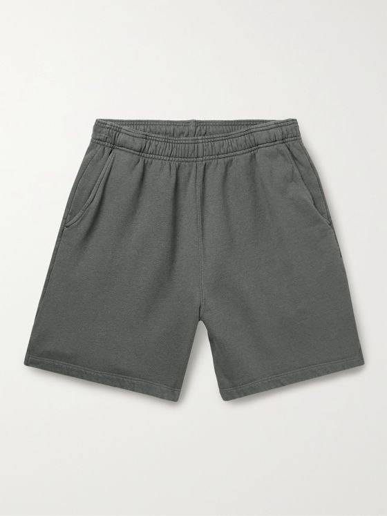 SAVE KHAKI UNITED Fleece-Back Cotton-Jersey Shorts