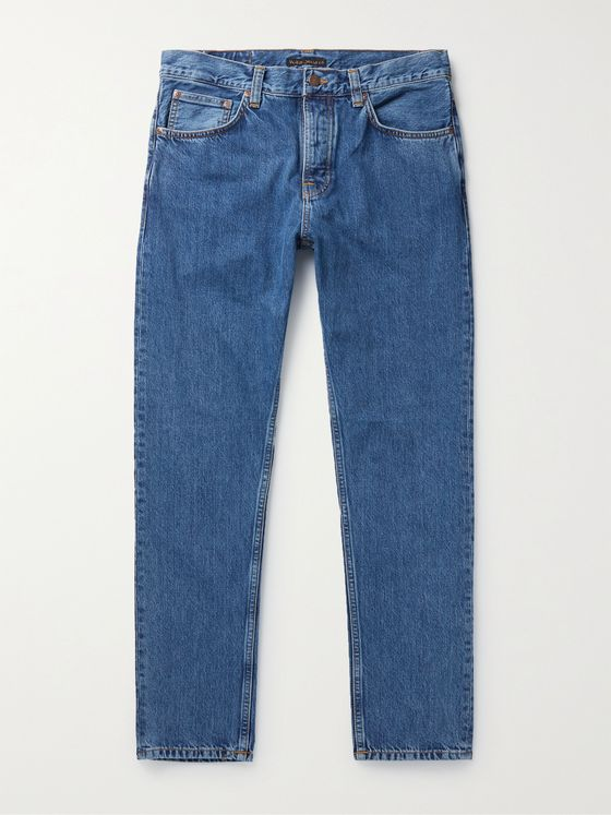 NUDIE JEANS Steady Eddie II Organic Denim Jeans