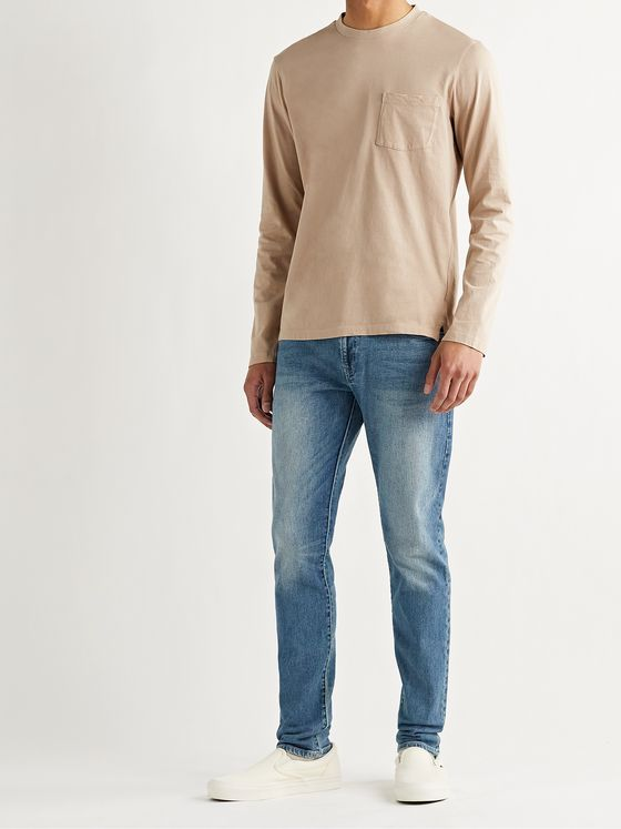 CLUB MONACO Super Slim-Fit Stretch-Denim Jeans