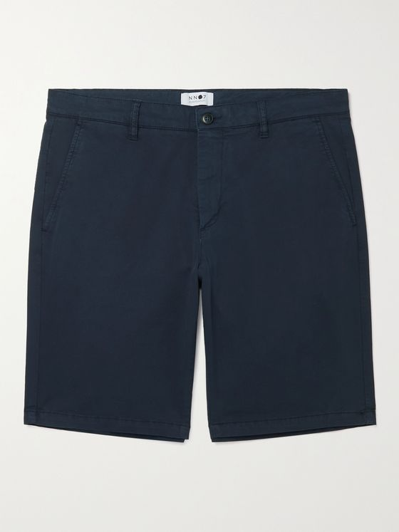 NN07 Crown Stretch-Cotton Shorts