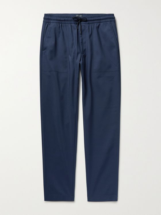 CLUB MONACO Travel Slim-Fit Stretch Cotton and Nylon-Blend Trousers