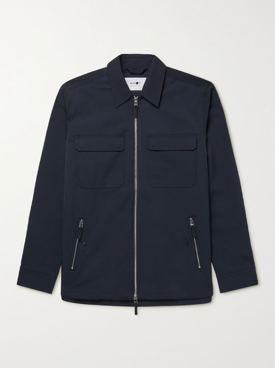 NN07 Timothy Shell Shirt Jacket
