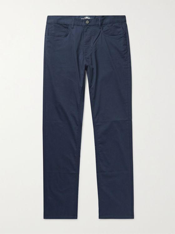 FAHERTY Movement Cotton-Blend Chinos