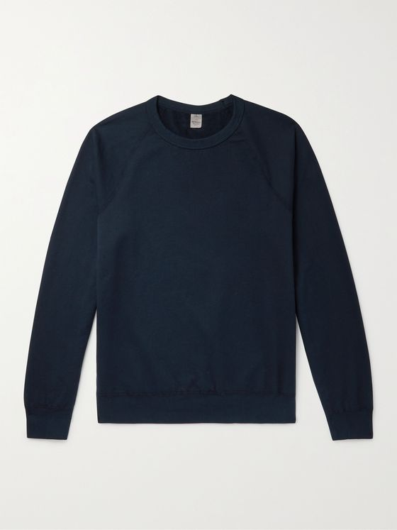 SAVE KHAKI UNITED Fleece-Back Supima Cotton-Jersey Sweatshirt