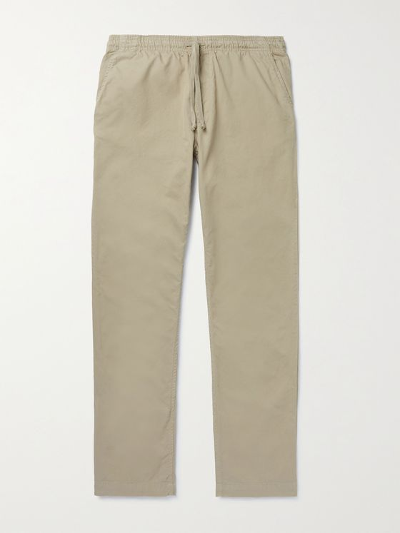 SAVE KHAKI UNITED Cotton-Twill Chinos