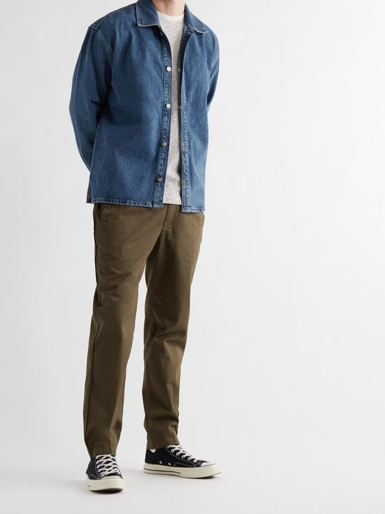 FRAME Organic Denim Shirt