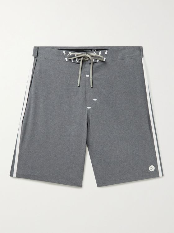 OUTERKNOWN Apex Long-Length Melangé Swim Shorts