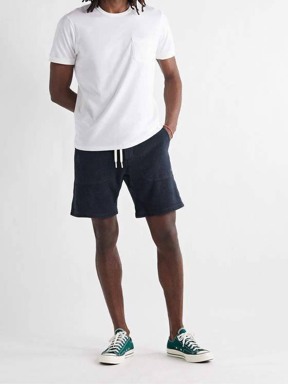 OUTERKNOWN Hightide Organic Cotton-Blend Terry Drawstring Shorts