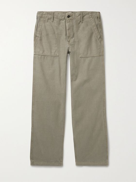 OUTERKNOWN Voyager Utility Slub Organic Cotton Trousers