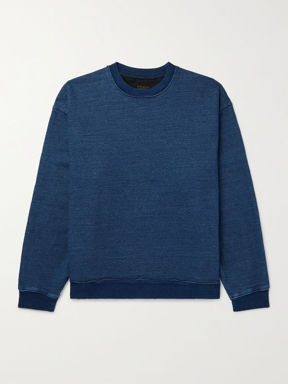 KAPITAL Patchwork-Panelled Cotton-Jersey Sweatshirt