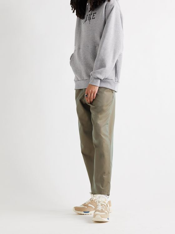WTAPS Seagull 02 EcoVero-Blend Twill Drawstring Trousers