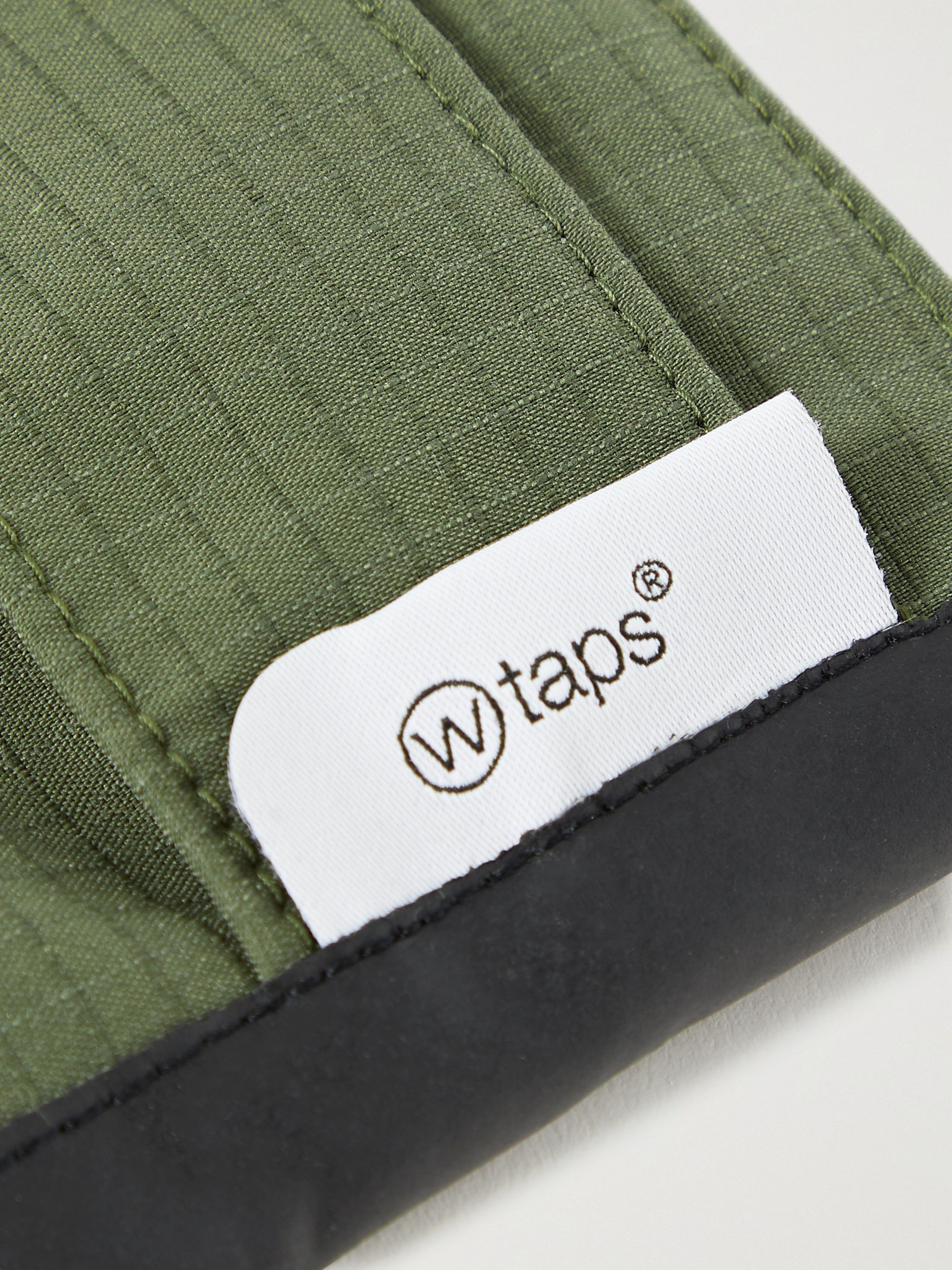 WTAPS COOLMAX® Cotton-Blend Ripstop Face Mask