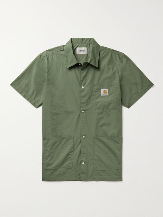 CARHARTT WIP Creek Organic Cotton-Poplin Shirt