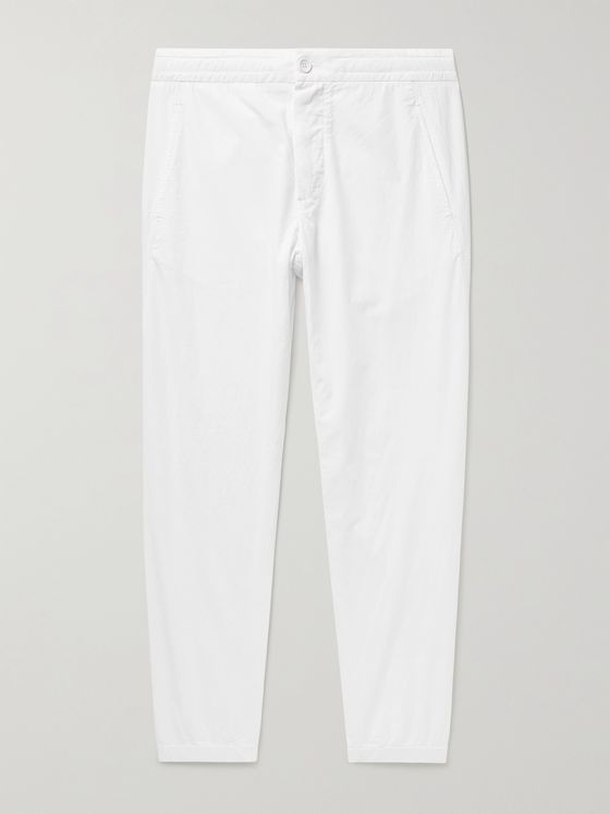 JAMES PERSE Cotton-Poplin Trousers