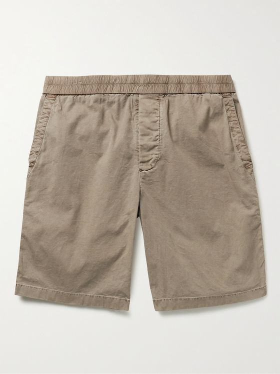 JAMES PERSE Supima Cotton-Blend Canvas Shorts